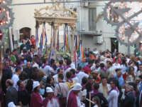 Particolare della festa,con il fercolo ligneo del Santo.  - Troina (2012 clic)