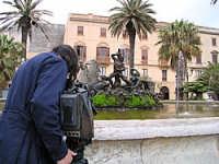 Riprese per un reportage   - Trapani (3925 clic)
