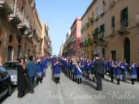 Esibizione della Banda Musicale di Paceco nella processione dei Misteri a Trapani  - Trapani (12008 clic)