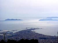 Panorama della Città di Trapani con vista delle Isole Egadi.  - Trapani (7127 clic)