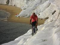 passeggiando in bicicletta   - Scala dei turchi (4426 clic)