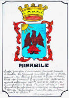 Stemma della Famiglia Mirabile di Chiusa Sclafani inviatomi da alcuni parenti residenti in Francia. Tratto dal libro  La Famiglia Mirabile  di Totò Mirabile  - Chiusa sclafani (10607 clic)