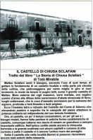 Il Castello di Chiusa Sclafani-Tratto dal libro   La Storia di Chiusa Sclafani di Totò Mirabile.  - Chiusa sclafani (2926 clic)