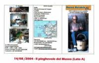Museo Mirabile delle tradizioni e arti contadine di Marsala: il pieghievole del Museo Mirabile  - Marsala (4541 clic)