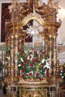 La Vara - Ogni anno, nei tre giorni successivi la Pentecoste, viene celebrata la festa del SS. Crocifisso, pregiata scultura lignea realizzata da Ignazio Marabitti , conservata nella Chiesa di S. Caterina.Il piccolo Crocifisso dei Miracoli, u Crucifisseddu di Chiusa, viene portato in processione insieme ad altre statue di Santi e, in tale occasione, un tempo si svolgeva la corsa dei cavalli nella via principale. (Totò Mirabile)  - Chiusa sclafani (3669 clic)
