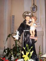 S. Antonino - Ogni anno, nei tre giorni successivi la Pentecoste, viene celebrata la festa del SS. Crocifisso, pregiata scultura lignea realizzata da Ignazio Marabitti , conservata nella Chiesa di S. Caterina.Il piccolo Crocifisso dei Miracoli, u Crucifisseddu di Chiusa, viene portato in processione insieme ad altre statue di Santi e, in tale occasione, un tempo si svolgeva la corsa dei cavalli nella via principale. (Totò Mirabile)  - Chiusa sclafani (3542 clic)