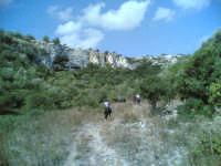 Un sentiero di Cava Ispica  - Rosolini (3040 clic)