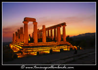 Valle dei templi, notturno  - Agrigento (5702 clic)