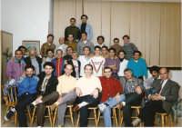 Avola 1993.Peppe Palumbo CAMPIONE DEL MONDO BIS insieme agli amici avolesi   - Avola (2955 clic)