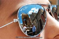 EFFETTO CON GLI OKKIALI A SPEKKIO    - Monterosso almo (3399 clic)