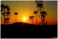 tramonto a monterosso  foto di alessandro pantano www.pantanoalessandro.tk   - Monterosso almo (6073 clic)