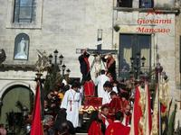Crocifissione di  Cristo - Venerdì Santo IL CALVARIO - Crocifissione del CRISTO  - Mussomeli (8028 clic)