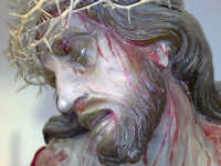 Espressivo volto del Cristo morto. Chiesa Maria SS.della Carità di Licata (AG)   - Licata (5481 clic)