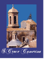 Particolare della chiesa madre prima del restauto curato dal parroco Bertino Salvatore.   - Santa croce camerina (3838 clic)