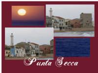 Nelle due foto al centro con le finestre verdi si vede la famosa Casa di Montalbano  dell'omonima serie televisiva Il Commissario Montalbano.  - Santa croce camerina (4668 clic)