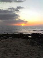 tramonto sulla scogliera dei canalotti  - Punta braccetto (3484 clic)