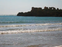 La rocca Vigliena e i ruderi, febbraio 2009  - Punta braccetto (5389 clic)