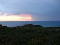 tramonto dalla scogliera  - Torre di mezzo (6631 clic)