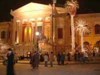 Teatro Massimo - Addobbi Natalizi.  - Palermo (5608 clic)