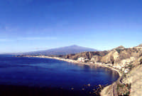 Etna vista da Taormina  - Etna (9934 clic)
