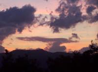 panorama notturno  - San piero patti (6889 clic)