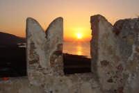 tramonto dal castello Brolo   - Brolo (4258 clic)