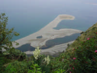 Vista laghetti Marinello dal santuario del Tindari  - Marinello (14301 clic)