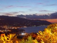 Visuale del golfo di Patti dal Santuario del Tindari.  - Patti (7092 clic)