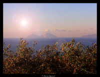 vista sulle isole eolie   - Capo d'orlando (8020 clic)