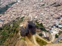 Panorama  Castello soprano  e Torre dei  saraceni    - Corleone (7657 clic)