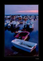 Barche al tramonto a Punta Secca  - Santa croce camerina (4375 clic)