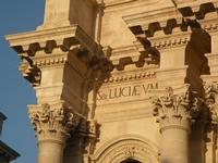 Particolare del Duomo   - Siracusa (1135 clic)