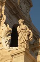 Duomo -  particolare Statua di Santa Lucia  - Siracusa (1095 clic)