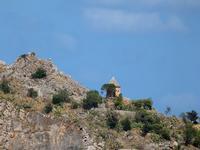 Tempietto  Tempietto alle falde di Montepellegrino in linea d' aria di fronte alla Villa Igiea. PALE