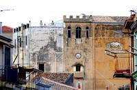 Il Santuario della Madonna della Daina  visto da lontano   - Marineo (892 clic)
