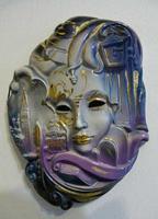 maschera veneziana Carnevale 2014 -1° marzo 2014 -- PALERMO Maria Pia Lo Verso