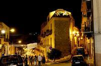 Corso Umberto I  di sera   - Ciminna (832 clic)