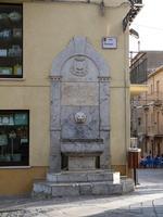 La fontana di Via Cavour    - Valledolmo (1989 clic)