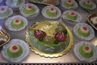 cassata e cassatelle Tipico e noto dolce di Palermo. La cassata siciliana e le cassatelle PALERMO Ma