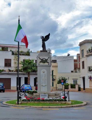 Ceppo commemorativo ai caduti della Grande Guerra - TERRASINI - inserita il 25-Nov-13