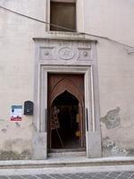 Oratorio del SS. Rosario Il portone d'ingresso dell'Oratorio del SS. Rosario  - Valledolmo (1911 clic)