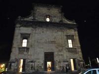 San Giorgio dei Genovesi by night La facciata della Chiesa di San Giorgio del Genovesi di Notte- Il