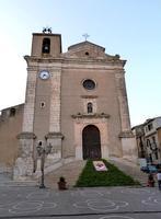 La Chiesa Madre  La Chiesa Madre e l'infiorata di Sant'Antonio - 19 agosto 2014  - Valledolmo (2936 clic)