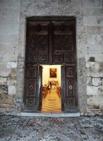 Chiesa di San Giorgio dei Genovesi Il portone di ingresso della Chiesa -  La Chiesa di S.Giorgio dei