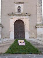La Chiesa Madre la Chiesa madre e l'infiorata di Sant'Antonio  - Valledolmo (1836 clic)