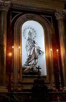 Cattedrale di Palermo Simulacro argenteo di  MARIA  IMMACOLATA  del  XVIII secolo PALERMO Maria Pia