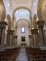 San Giorgio dei Genovesi L'interno della Chiesa il cui primo completamento della costruzione  riport