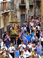 La Frottola  di San Nicolò  Festeggiamenti per il Santo Patrono di Isnello:  San Nicolò  - settembre 2011 -  - Isnello (4292 clic)