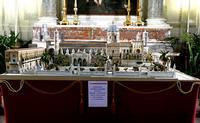Cattedrale di Palermo Plastico della Cattedrale realizzato dall'arch.Zangara Pietro e da lui donato
