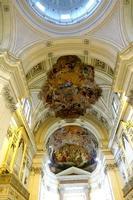 Cattedrale di Palermo Presbiterio :  affresco della volta con la  Assunzione della Vergine  e La